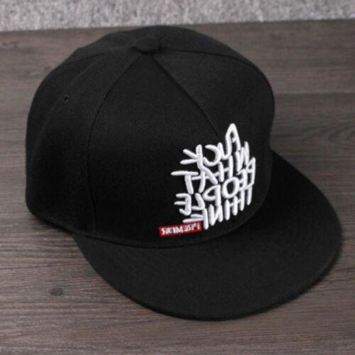Fashion Men\\\/'s Bboy Brim Adjustable Baseball Cap Snapback Hip-Hop Hat Unisex