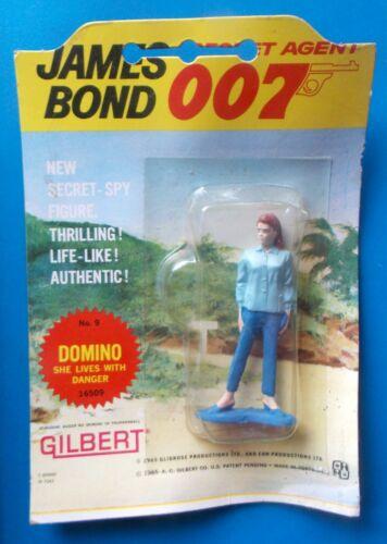 "1965 James Bond Man oncle bricolage 12/"" GILBERT Figure bras jambe chapeau bottes Domino"