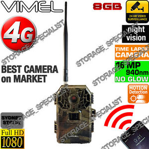 Home Security Camera 8GB Wireless 3G GSM House Hunting Farm