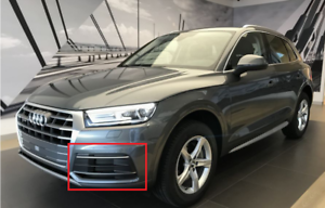 New-Genuine-Audi-Q5-Front-Bumper-Air-Intake-Guide-Grill-Left-80A807679D-RU6-OEM