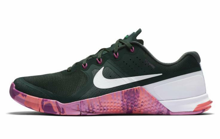 New Nike Metcon 2 AMP Men's Size 9.5 Green Crossfit Trainer Shoes  819902-315
