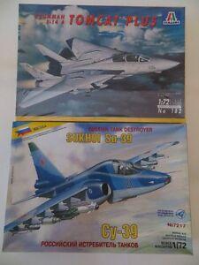 GRUMMAN-F-14A-TOMCAT-PLUS-SUKHOI-SU-39-CY-39-SCALA-1-72