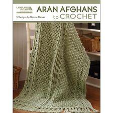 Leisure Arts Aran Afghans To Crochet - 454993