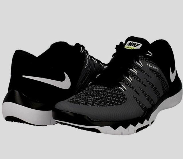 entrevista Prima preocupación  Nike Trainer 5.0 Mens Training Shoes V6 Black Gray Flywire 719922 ...