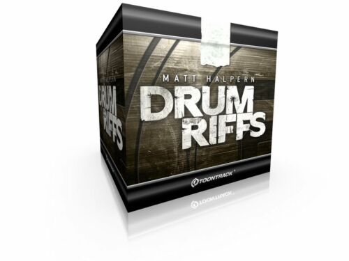 Download ToonTrack Drum Riffs MIDI-Pack