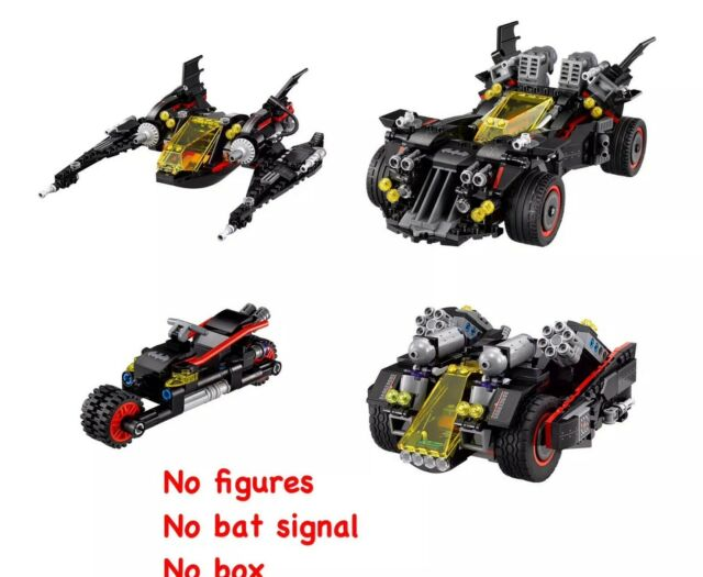 LEGO THE BATMAN MOVIE SUPER HEROES 70917 THE ULTIMATE BATMOBILE NUOVO
