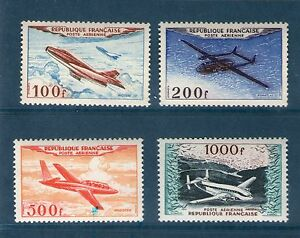 SERIE-TIMBRES-PA-30-33-NEUF-GOMME-ORIGINALE-TTB-PROTOTYPES-MILITAIRES