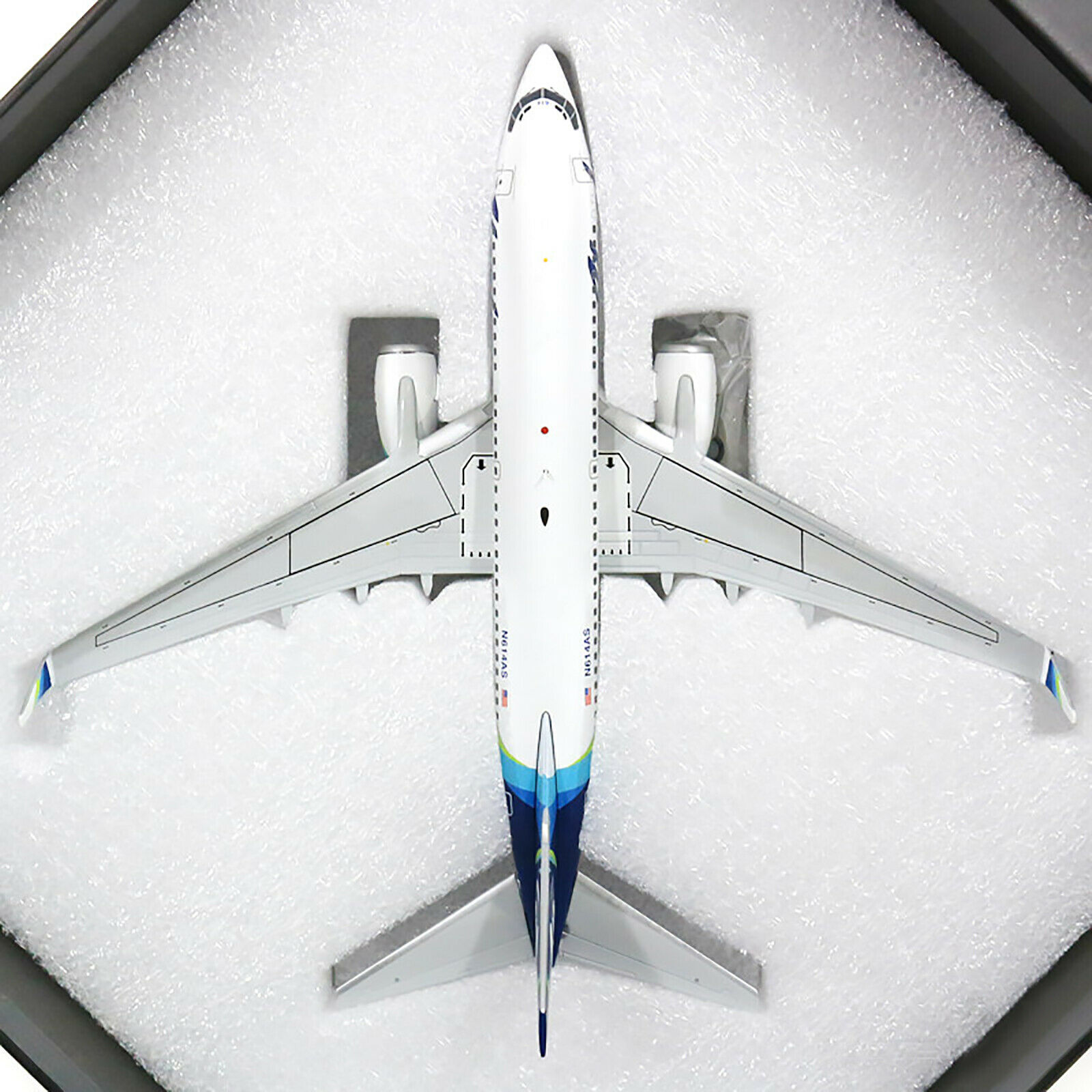 Gemini200 Alaska Boeing 737-700 New New New Livery G2ASA778 1 200, N614AS. New f19aaa