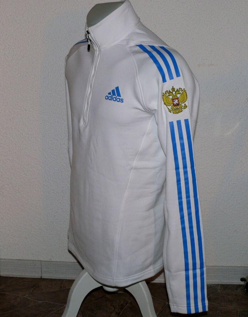 Russia Langarm pullover Adidas Adidas Adidas G75347 1 2 Zip Stand Up Shirt Sport Ski 36 UK10  | Verschiedene Stile  c583cc