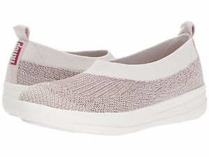 1b20ca290fe4 Women s Shoes Fitflop Uberknit Slip On Ballerina Flat J81-507 Stone ...