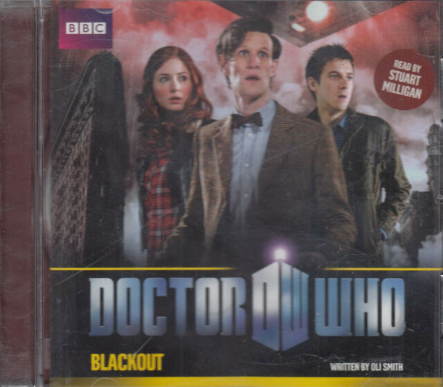 Doctor Who Blackout Oli Smith CD Audio Book NEW FASTPOST