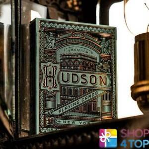HUDSON-THEORY-11-PREMIUM-SPIELKARTEN-DECK-MAGIE-TRICKS-VERPACKT-GOLD-USA-NEU