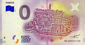 BILLET-0-EURO-PORTO-PORTUGAL-2018-NUMERO-100