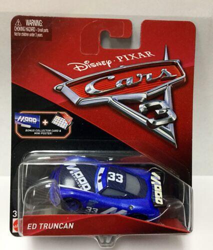 Disney Pixar Cars Lightning Mcqueen ED Truncan  Junior Moon Die-Cast Vehicle