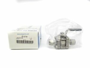 New In Sealed Packaging SWAGELOK SS-62TS6
