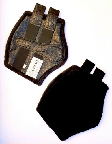 Amidale Brushing boot Crocodile design Bnwt