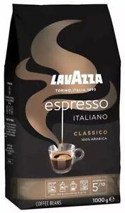 Lavazza Espresso Italiano Coffee Beans 1kg **Cheapest on eBay & FREE Delivery**