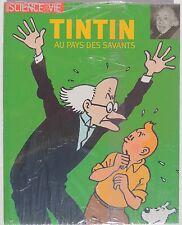 Tintin au Pays des Savants. Science et Vie 2004. Album cartonné. EO. NEUF