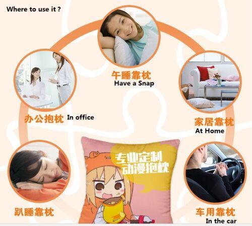 Anime Overlord Albedo Ainz  Pillow Cushion Case Cover Dakimakura 60x40cm