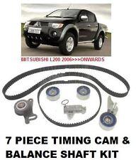 Per Mitsubishi L200 2.5 animale 2006 & GT Timing Cam Belt + equilibrio dell' albero Cinghia KIT