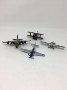 Mixed-Lot-Die-Cast-Metal-Planes-1-Pencil-Sharpener-2-Corgi-1-Matchbox-Man-Cave