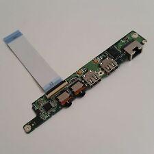 Lenovo IdeaPad S10-3 Sound Audio USB LAN Board mit Kabel 3RFL5IB0020