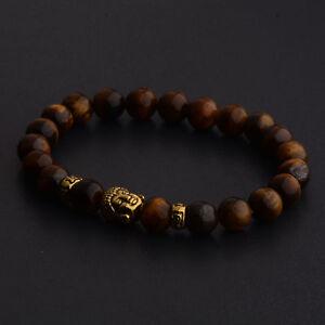 8mm-Natural-Tiger-Eye-Beads-Buddha-Head-Women-Men-Yoga-energy-Bracelets-Jewelry