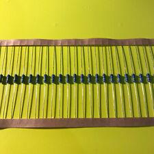 1/4W .25 Watt 1% Tolerance Metal Film Resistor 20 Pieces USA SELLER