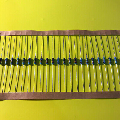 100 Pieces of Resistance Metal Layer 12 kohm 1//4w 0,25 Watt 1/% Resistance 12