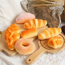 Toy Table Decor Simulation Food Artificial Bread Doughnut Model Home Decoration