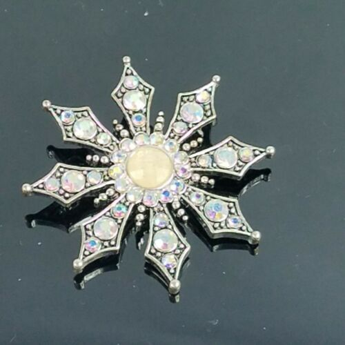 KC Kenneth Cole Swarovski Crystal Aurora Borealis… - image 1