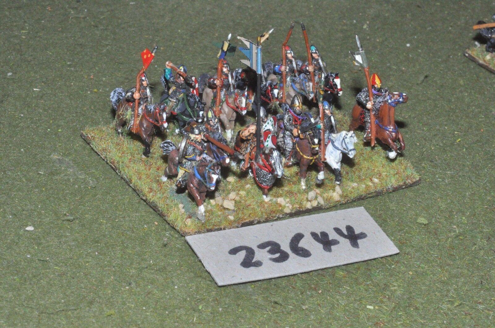 15mm dark ages   norman - milites 12 figures - cav (23644)