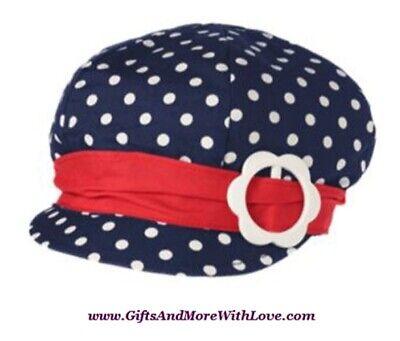 Gymboree NWT Marine Blue PELICAN CATCH FISH BUCKET DRESS HAT CAP 0 3 6 9 12 18 M