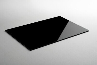 Lacobel Farbglas Color-glas Deko 6 Mm Schwarz Classic Black Wunschmaß