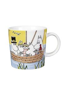 Moomin Mug Sailing with Nibling and Tooticky / Purjehtien *NEW