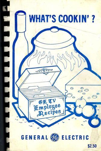 NORFOLK VA VINTAGE GENERAL ELECTRIC GETV EMPLOYEE RECIPES COOKBOOK WHAT/'S COOKIN