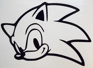 Sonic The Hedgehog Funny Video Game Car Truck Window Vinyl Sticker Decal Ebay