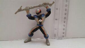 2007-Bandai-Power-Rangers-GRAY-BLUE-RANGER-Figure-expedition-rapide