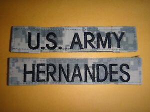 2 Us Armée Acu Poche Correctifs - AMÉRICAIN Armée+Hernandes Nom 83gesnIO-09173443-713143940