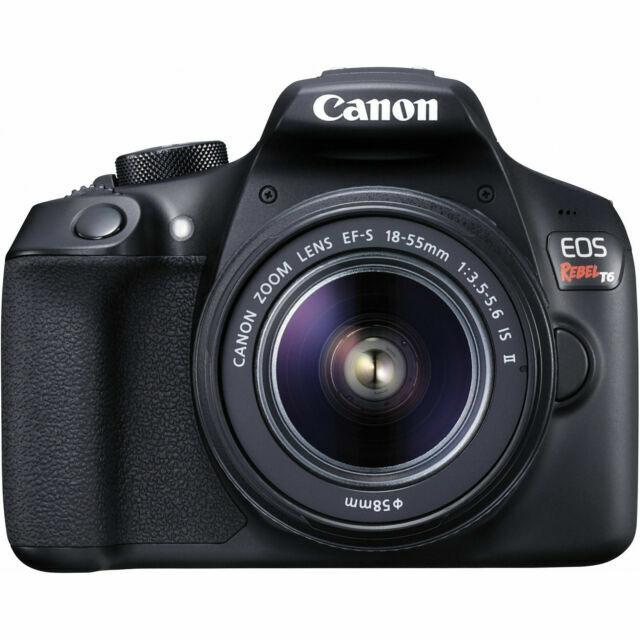 Canon Rebel T6 Digital SLR Camera 18-55mm Kit USA
