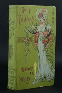TOUT-TOULOUSE-ANNUAIRE-DES-SALONS-ART-NOUVEAU-EPOQUE-1905-MUCHA-RARE