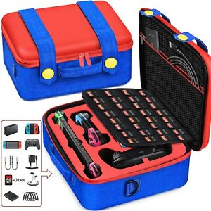 For Nintendo Switch Travel Bag Hard Carrying Case Storage Shell Protective Box