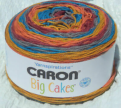 Caron Big Cakes Toffee Brickle #294026 Worsted Weight 4 Medium  10 5oz/603yds for sale online | eBay
