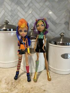 Monster-High-CLAWDEEN-amp-HOWLEEN-Sister-Werewolves-2-pack-RARE-VERY-HTF