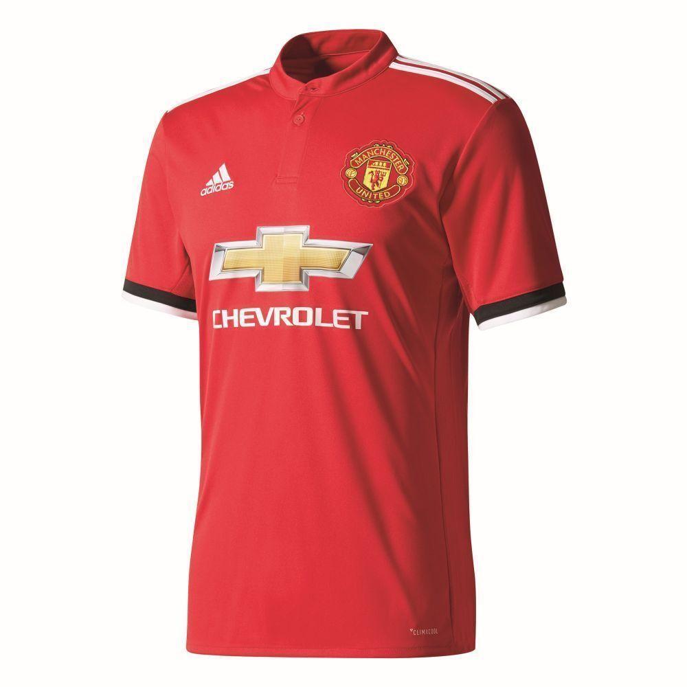 Adidas Manchester United FC Fußball Home Trikot Heimtrikot 2017 2018 Kinder rot