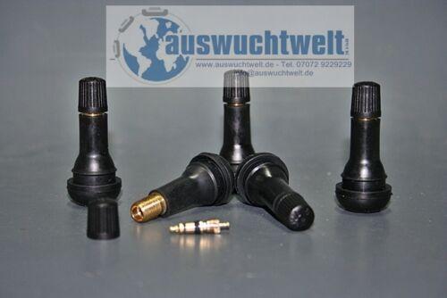 Válvulas de goma neumáticos válvulas TÜV St tr414 50 unidades SNAP en