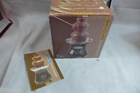 Nostalgia Electrics Mini Chocolate Fondue Fountain Cheese Too Ccf-930