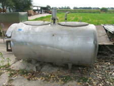 Zero Model T 20 400 Gallon Stainless Steel Milk Dairy Cooling Tank Brewery
