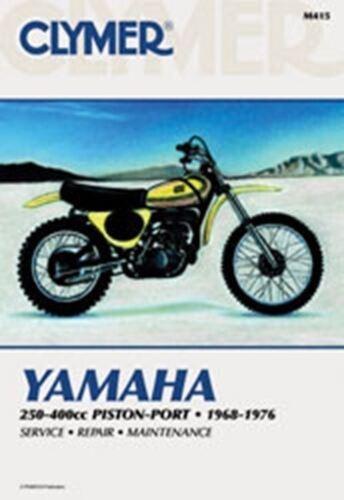 Clymer M415 Service & Repair Manual for 1968-76 Yamaha 250-400cc Piston-Port