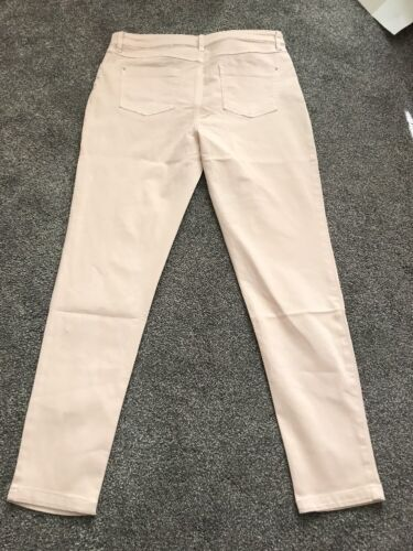 M/&s Rose Clair Super Soft Skinny Jeggings Taille 10 Court BNWT Gratuit SAMEDAY p/&p